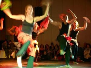 Afrikanische Tanz Art